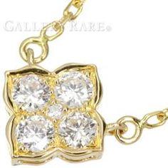 カルティエ ネックレス ヒンドゥ ダイヤモンド K18YGイエローゴールド Cartier ジュエリー ペンダント ダイアモンド
