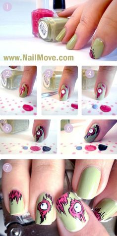 Beginner Nail Art Tutorials, I am not a nail art kind of person,I like nails polish,but I rarely try nail art, I take one or couple of shaded  nails designs .. #BeginnerNailArt #NailArtDesigns #NailArtTutorials