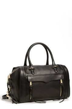Image of Rebecca Minkoff Darcy Leather Satchel