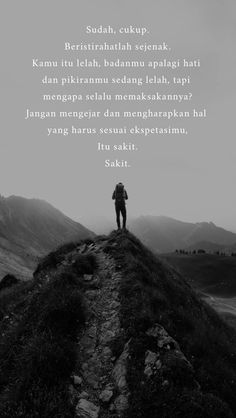 Quotes Rindu, Tumblr Quotes, Mood Quotes, People Quotes, Lyric Quotes, Best Quotes, Qoutes, Story Quotes, Quotations