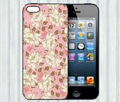 Floral iphone case, iphone 4s case, iphone 4 cover case, iphone case 4, iphone hard case, iphone 5 case