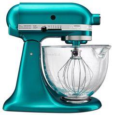 kitchen aid mixer sea glass | KitchenAid Artisan Design Series Stand Mixer Sea Glass. (PRNewsFoto ...
