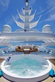 High End Luxurious Yachts With Breathtaking Indoor Pools