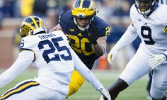 Michigan Running Back Drake Johnson Injured After Getting Run Over By A Forklift