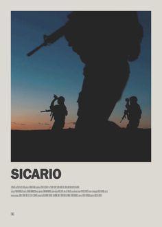 Sicario Minimal Movie Poster  https://society6.com/theearlofgrey