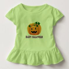 Happy Halloween Jack O'Lantern Toddler T-shirt - Halloween happyhalloween festival party holiday