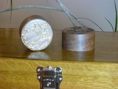 Walnut Paperweights by FrillsElectricWood on Etsy
