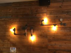 like the lighting using pipes as a holder
