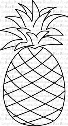 Coloring Pineapple,GrapeColoring,StrawberryColoring_点力图库
