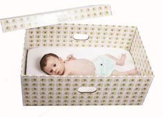 Baby Box Company. Reusable! Great for on the go plus comes packed with name brand baby products.