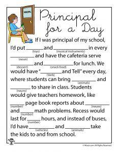 Mad Libs Worksheets   Home Classroom   Teacher worksheets, Mad libs ...