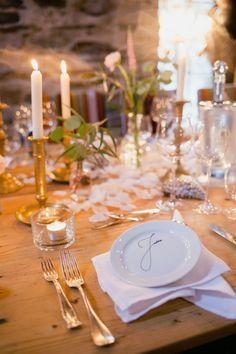 Eine wunderschöne Tischdekoration im Alte Mühle Höreth!