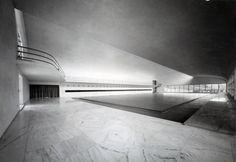 Accademia di scherma (aka Casa delle Armi) at Foro Italico, Roma IT (1936) | Luigi Moretti