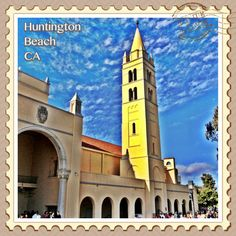 The Bell Tower at Huntington Beach High School, Huntington Beach, California