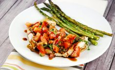 Checkout this amazing Italian Chicken Bruschetta Recipe at LaaLoosh.com! It's so fresh and flavorful...perfect for summer grilling!