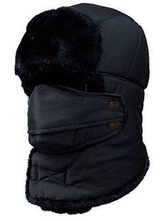 2017 New Winter Balaclava Beanie hat Female for Women Men Face Mask Bonnet  Windproof Thick Warm Snow Ski Winter Hat Cap earflap e6e73ef1d69c