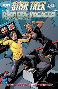 SAM-COMICS: Star Trek Planeta dos Macacos 03 (2015)