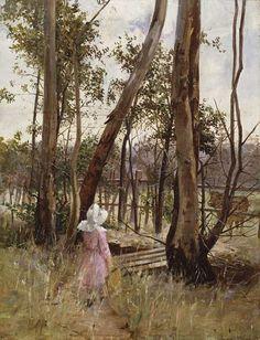 Jane Sutherland, Australian artist of the Heidlberg School
