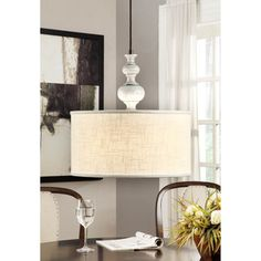 Charcoal Turned 3-light Charcoal Rubbed Pendant   Overstock.com Shopping - Great Deals on Chandeliers & Pendants Dining Room     $179