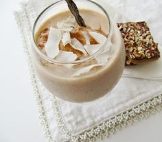 Spiked Hazelnut Mocha Frappe   Starbucks can't compete with Frangelico and coconut milk!