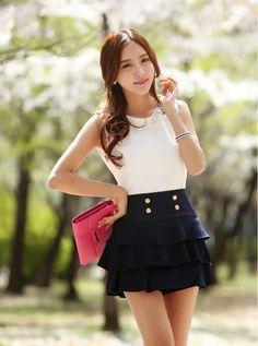 moda coreana juvenil casual , Buscar con Google Más