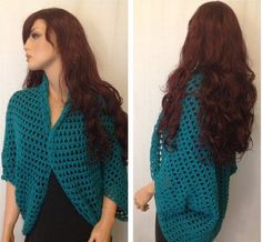 How to Crochet a Shrug - Bolero Pattern #2 by ThePatterfamily