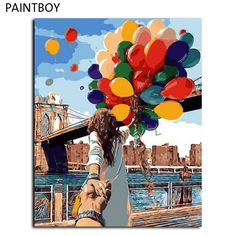 Cheap canvas oil painting, Buy Quality paintings home decor directly from China frame picture Suppliers: PAINTBOY Framed Picture Painting By Numbers Home Decor DIY Digital Canvas Oil Painting Home Decoration 40*50cm Picture