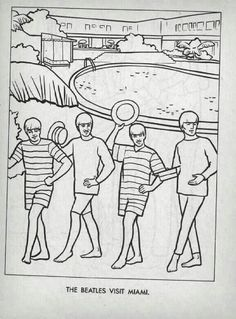 35 Best Beatles Coloring Book images | The Beatles, The beatles ...