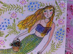 nantucket mermaid | Nantucket Mermaid Boxes