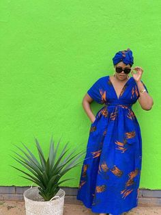 South Africa's home of modern African print fashion. African Print Dresses, African Print Fashion, Fashion Prints, South African Traditional Dresses, Ankara Styles, Dress P, Mall, Fashion Dresses, Ladies Dresses