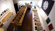 Diggin Days Pop Up Recordstore Preparation Time Lapse Movie
