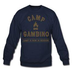 Camp Gambino Crew Neck | Childish Gambino ~ 1107