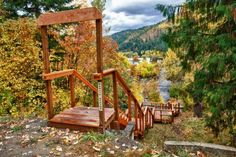 There's A Stairway To Heaven Hiding In Idaho And It's Absolutely Breathtaking Wallace Idaho, Wallace Falls, Oh The Places You'll Go, Places To Travel, Places To Visit, Travel Destinations, Boise Idaho, Coeur D'alene, Stairway To Heaven