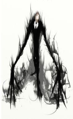 Slender man art - Google Search
