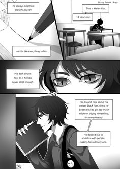 Bloody Painter story Comic-Pag.1 by DeluCat.deviantart.com on @DeviantArt
