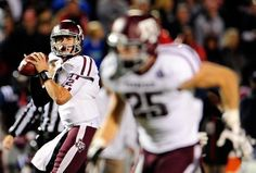 Awesome photo...Aggies vs Ole Miss  Manziel # 2 and Swope # 25