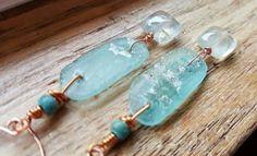 Check out this item in my Etsy shop https://www.etsy.com/listing/484880917/boho-earrings-gemstone-earrings-prehnite