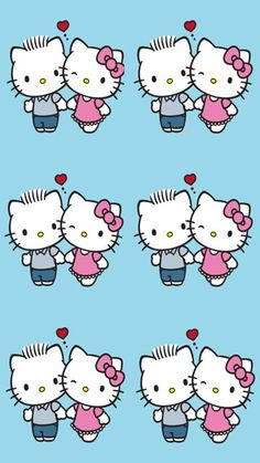 Sanrio Characters, Fictional Characters, Hello Kitty Backgrounds, Friends, Pattern, Fun, Amigos, Patterns, Fantasy Characters