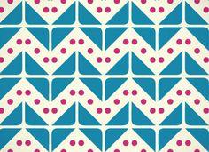 triangles, dots, zig zag