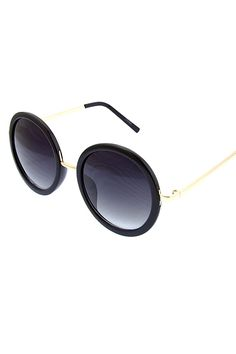 Anna Round Sunglasses www.gatzino.com -  For more amazing deals visit us at http://www.brides-book.com/#!brides-book-outlets/ck9l and remember to join the VIB Ciub