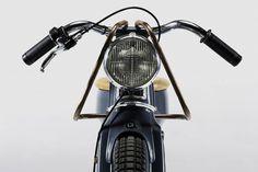 deus electric custom motorcycle designboom