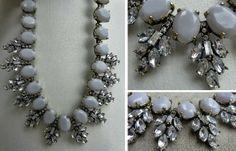 j crew inspired Jewelry ♥ Jewellery ♥ Necklace ♥ gorgeous ♥ grey