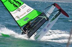 World Hobie Cat championship 2014 Jervis Bay Grand Master race