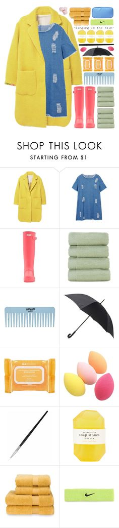 """""""Newchic : 01"""" by cinnamon-and-cocoa ❤ liked on Polyvore featuring MANGO, Hunter, Ole Henriksen, Pelle, Christy and NIKE"""