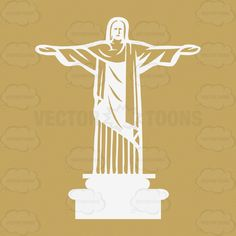 Corcovado & Christ The Redeemer Statue, Central Rio De Janiero, Brazil, South America #brazil #business #chapel #Christ #culture #distance #famous #globe #holiday #landmark #leisure #park #PDF #pinnacle #plan #pleasure #railway #religious #sightseeing #southAmerica #statue #temptation #tourism #tourist #transportation #travel #vacation #vectorgraphics #vectors #vectortoons #vectortoons.com