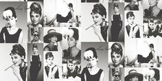 A delightful montage of black and white and sugar coloured photographs of Audrey Hepburn. Some instant Hollywood glamour for your home. Similar black and white design also available. Please request sample for true colour match. Screen Icon, Colour Match, Old Images, Black And White Design, Photomontage, Color Pallets, Hollywood Glamour, Audrey Hepburn, True Colors