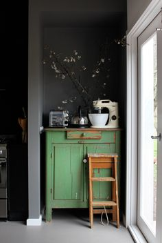 Meubles Peints En Vert Sur Pinterest Entreprise De