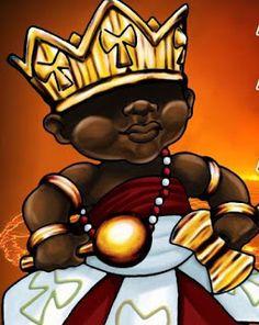 Tudo sobre Orixás - Tecido Africano - Bordado: Quarta-Feira - Dia de XANGÔ
