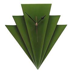 Jade Green Clock | Art Deco Style