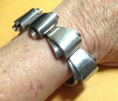 Antonio Pineda Mexico Modernist Bracelet